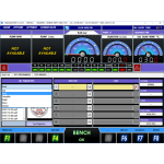 Стенд для испытания и кодирования форсунок Common Rail UNITEC